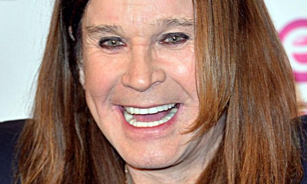 It's the bleepin' birthday of rocker Ozzy Osbourne of bleepin' Black Sabbath. He is bleepin' 68. (Getty Images: Anthony Harvey)