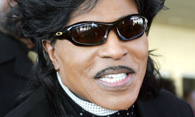 "Singer Little Richard is 83. So sing it out: ""Good Golly Miss Molly"" and/or ""Tutti Frutti."" (Associated Press: Reed Saxon)"