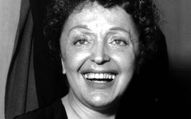 """France's national diva, Edith Piaf, was born on this day in 1915. """"The Little Sparrow"""" died in 1963. (Photo by Hulton Archive/Getty Images)"""