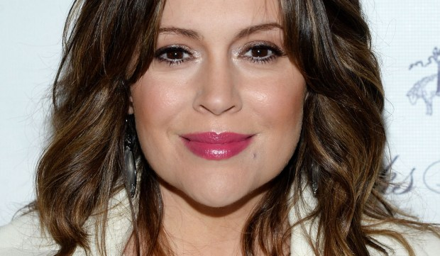 """Actress Alyssa Milano -- """"Mistresses,"""" """"Charmed,"""" """"Who's the Boss?"""" -- is 44. (Getty Images: Ben Gabbe)"""