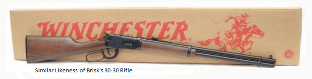 Morrison County investigators are seeking the public's help in locating a gun believed to have been stolen during a Nov. 7 shooting death of Terrence Brisk near Little Falls, Minn. (Photo courtesy Morrison County sheriff's office)