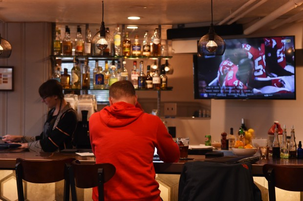 The bar area is all new at Stewart's, 128 N. Cleveland Ave. in St. Paul, Sunday, Nov. 27, 2016. (Pioneer Press: Scott Takushi)
