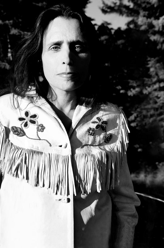 Ann Marsden's portrait of activist/environmentalist Winona LaDuke will be featured at IFP Minnesota in St. Paul. (Photo courtesy Ann Bancroft Foundation)
