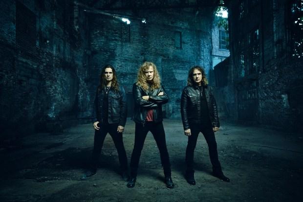 Thrash metal band Megadeth.