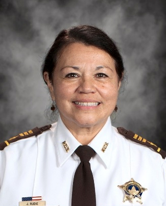 Julie Rudie became the Chief Deputry of the Ramsey County Sheriff's Office on Jan. 23, 2017 when Ramsey County Sheriff Jack Serier appointed Rudie to Chief Deputy. Photo courtesy of the Ramsey County Sheriff's Office.