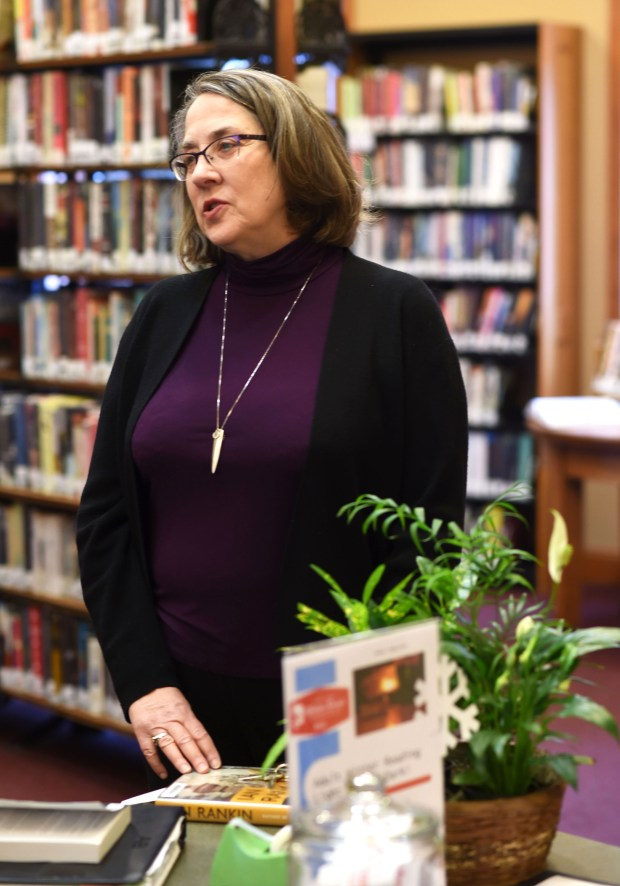 Lynne Bertalmio, shown on Tuesday, Feb. 7, 2017, is retiring after 42 years as director of the Stillwater Public Library. (Pioneer Press: Scott Takushi)
