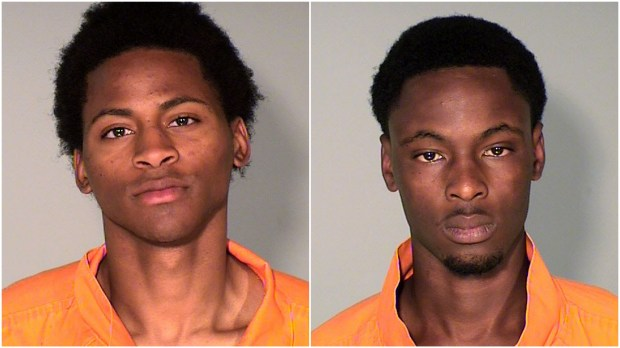 Shawn Delaine Bellazan Jr., 19, and Cavis Deandre Adams, 21, both of St. Paul, were charged via warrant Wednesday March 22, 2017, with one count of second-degree unintentional murder as well as one count of aggravated robbery in the September death of Gebremedhin A. Tela, according to criminal complaints filed against them in Ramsey County District Court. (Courtesy Ramsey County sheriff's office)