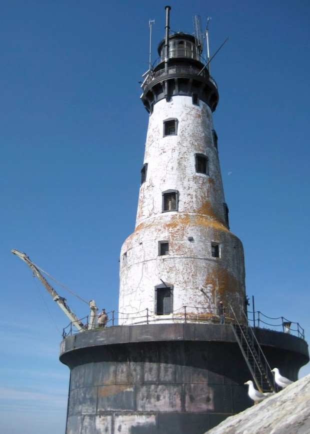 The Rock of Ages Lighthouse Preservation Society is planning a multi-year project to restore the lighthouse, located to the west of Isle Royale, to a 1930s look. Photo courtesy of the Rock of Ages Lighthouse Preservation Society