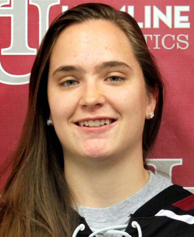 Undated courtesy photo, circa April 2017, of Jessica Goldberg, a senior on the Hamline University women's hockey team. Goldberg, who attended Henry Sibley High School, played four seasons of hockey for Hamline and also was on the varsity lacrosse team for a season. (Courtesy of Hamline University)