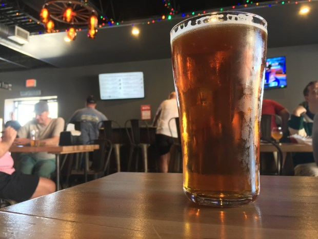 Naked Hop Party from Angry Inch Brewing. (Pioneer Press: Jess Fleming)