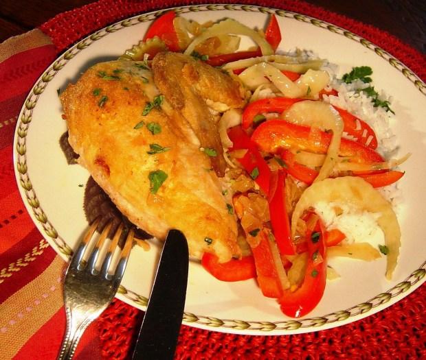 Pan Roasted Chicken (Linda Gassnehimer/TNS)