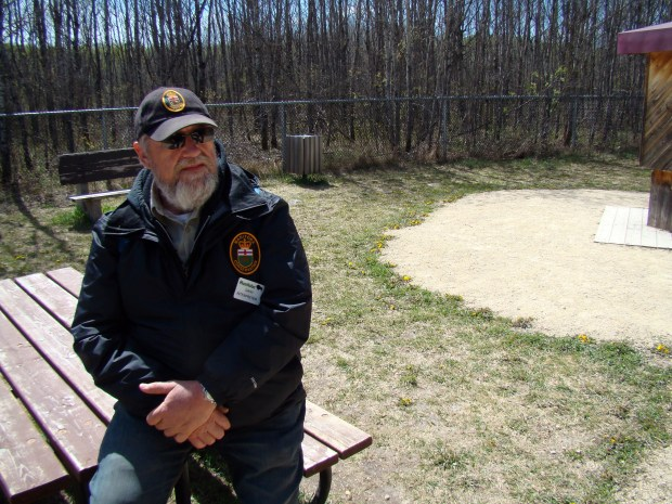 Gary Chikousky, an interpreter at the Narcisse Snake Dens in Manitoba, said there was a time when people would go into the dens and remove garter snakes by the sack full and kill them. (Brad Dokken / Forum News Service)