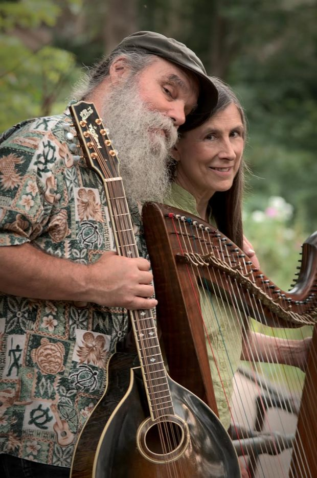 Minneapolis folk duo Curtis and Loretta. (Courtesy of Jennifer Bong)