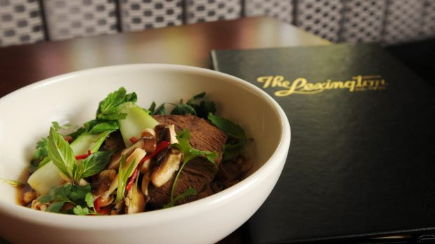 Beef Pot au Pho at The Lexington