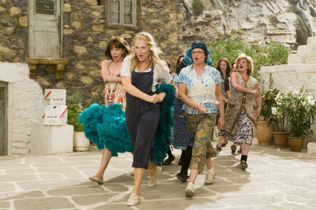 "Meryl Streep led the cast of the hit movie version of ""Mamma Mia!"" (Universal Studios)"