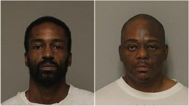 Bryston Markeis Hill-Turnipseed and Johnny Earl Edwards were charged Wednesday, May 31, 2017, in Anoka County District Court with second-degree murder in the death of 54-year-old James Chapman. (Courtesy of Anoka County sheriff's office)