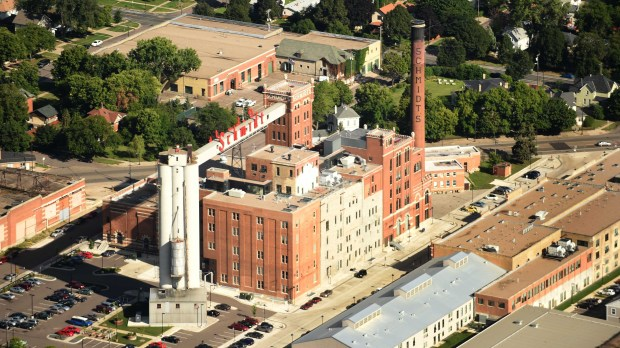 The Schmidt Brewery in St. Paul on Aug. 20, 2015. (Scott Takushi / Pioneer Press)