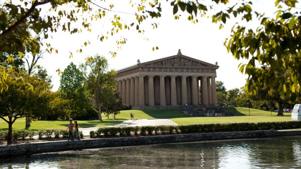 The Parthenon in Nashville, Tenn. (Courtesy of Nashville Convention & Visitors Corporation)