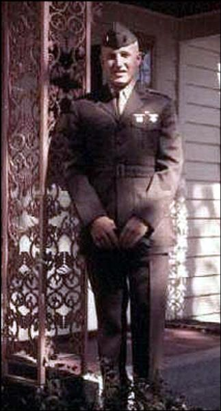 Thomas Brindley stood in front of his family's house, 687 E Wheelock Pkwy in 1967 before leaving for Vietnam. (Lou Ferraro / Courtesy Photo)