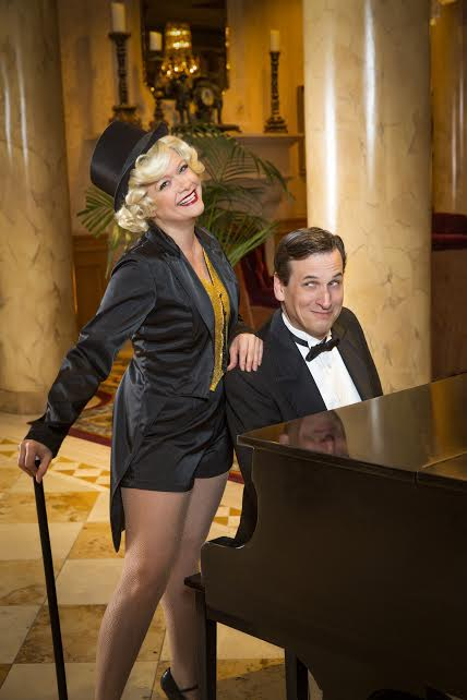 """Bonni Allen and John Middleton are in the drama/comedy/romance/musical """"Idiot's Delight,"""" through July 23. (Richard Fleischman/Girl Friday Productions)"""