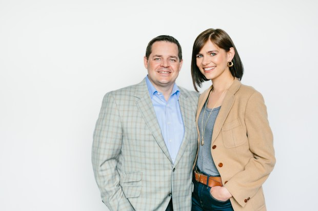 Patrick Nelson and Mary Kay Mohs of Patrick Mohs Jewelry. (Carly Milbrath)