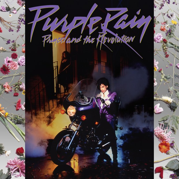 "Cover art for the new reissue of Prince and the Revolution's ""Purple Rain."" (Courtesy of Warner Bros. Records)"