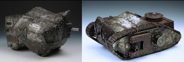 """""""Tank 1 and Tank 2"""" by Kyle Fokken"""
