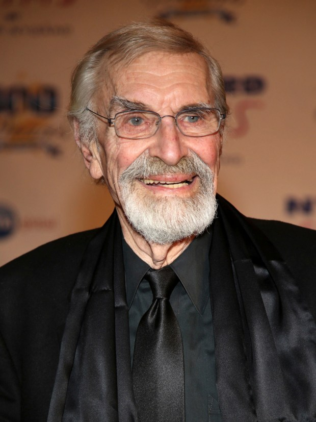 In this March 2, 2014, photo, Martin Landau arrives at the 24th Night of 100 Stars Oscars Viewing Gala at The Beverly Hills Hotel in Beverly Hills, Calif. Landau died Saturday, July 15, 2017, of unexpected complications during a short stay at UCLA Medical Center, his publicist Dick Guttman said. He was 89. (Photo by Annie I. Bang /Invision/AP)