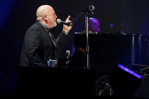 Billy Joel sings Friday, July 28, 2017, at Target Field in Minneapolis. (Courtesy of Brace Hemmelgarn/Target Field)