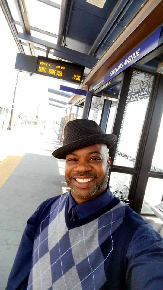 Kenneth J. Foster, 48, of Minneapolis, was killed when a car drove into the Metro Transit bus he was passenger on Friday, July 21, 2017, in St. Paul. (Courtesy of Kenneth Foster family)