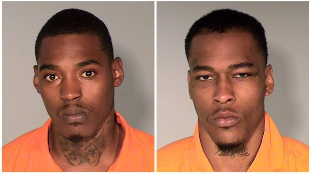 Vincent Reanell Harris, left, and Bobo Davonte. (Courtesy of Ramsey County sheriff's office)