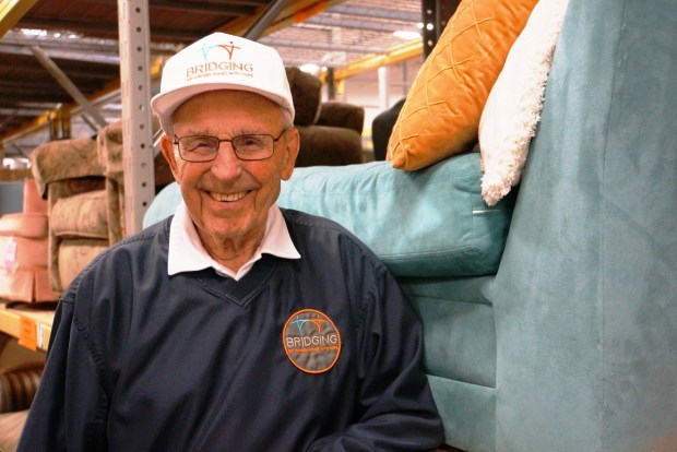 Fran Heitzman, 92, founded the nonprofit Bridging in 1987. Bridging provides furniture for those transitioning out of homelessness. (Courtesy of Bridging)