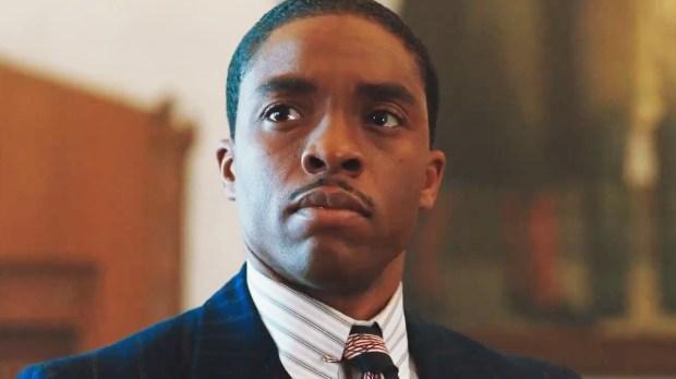 "Chadwick Boseman is ""Marshall."" (Open Road Films)"