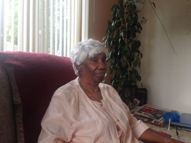 Verlene Price Booker, 88, of St. Paul lived across Rondo Avenue from Roy Campanella as a 17-year-old in the summer of 1948. She recalled getting cases of Wheaties cereal delivered to her home from Campanella with pictures of the future Dodgers hall of famer on the box after General Mills shipped them to Campanella every time he hit a home run for the Saints. (Pioneer Press / Brian Murphy)