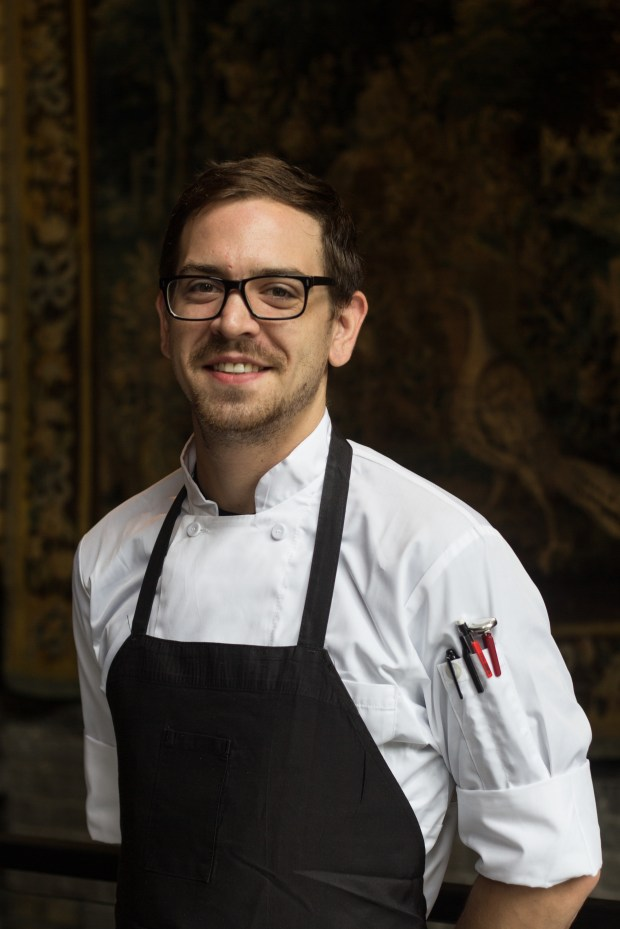 Tyler Hanlon, executive chef at PUBLIC kitchen + bar in St. Paul. (Courtesy of Lora Hlavsa for Madison Restaurant Group)