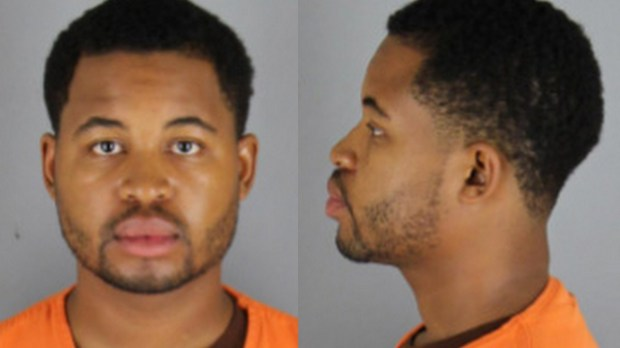 Sept. 2017 courtesy photo of Derrick Aaron Kinchen. Kinchen, 28, of Lansing, Mich. has been charged with criminal sexual conduct after authorities say he tried to assault a 7-year-old girl in the Minnetonka house where he was staying as an Airbnb guest. Kinchen, who was in town for a wedding, has been charged with second-degree criminal sexual conduct of a victim younger than 13, according to the Hennepin County attorney's office, which announced the charges Tuesday, Sept. 26, 2017. The alleged incident happened early Sunday morning. (Courtesy of the Hennepin County Sheriff's Office)