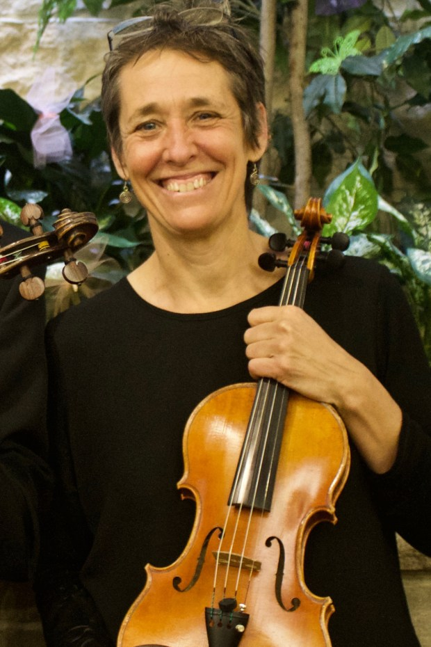 Violinist Joan Molloy was named concertmaster of the East Metro Symphony Orchestra in September 2017. (Courtesy of East Metro Symphony Orchestra)
