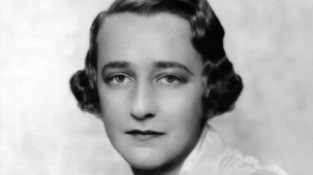 "Lillian Hellman, in the mid-1930s, around the time that she wrote her first play, ""The Children's Hour,"" and that Dashiell Hammett published ""The Thin Man,"" whose Nora Charles was based on Hellman. (Stage magazine)"