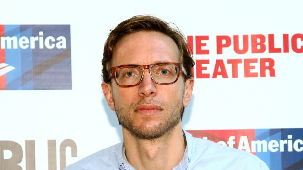 """FILE - In this June 6, 2016 file photo, Michael Friedman attends the 2016 Public Theater Gala Benefit """"United States of Shakespeare"""" in New York. Friedman, an Obie-winning composer and lyricist known for Broadway musicals """"Bloody Bloody Andrew Jackson"""" and """"Love's Labour's Lost,"""" died, Saturday, Sept. 9, 2017, of complications related to HIV/AIDS. He was 41. (Photo by Andy Kropa/Invision/AP, File)"""