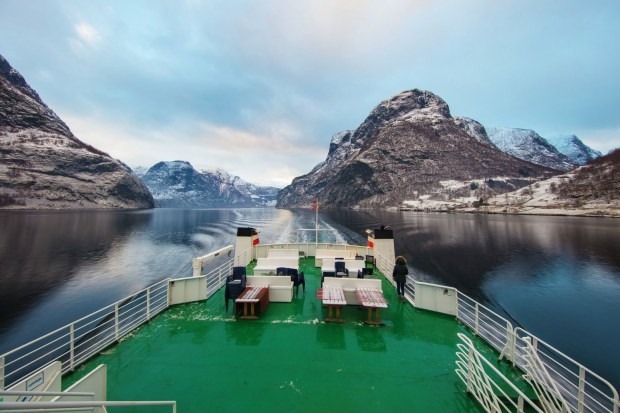 Aurlandsfjord near Flam. (Berge / Knoff / Natural Light / Visitnorway.com)