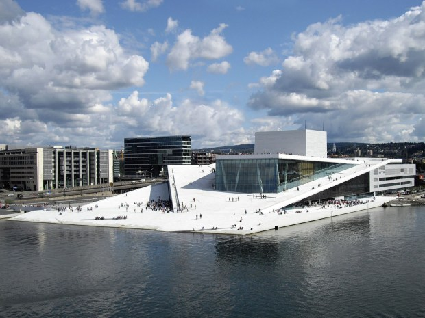 The Oslo Opera House in Oslo, Norway. (Christopher Hagelund / Visitnorway.com)