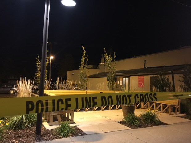 St. Paul police are investigating a homicide in the 900 block of West University Avenue early Sunday, Oct. 22, 2017. (Courtesy of St. Paul police)
