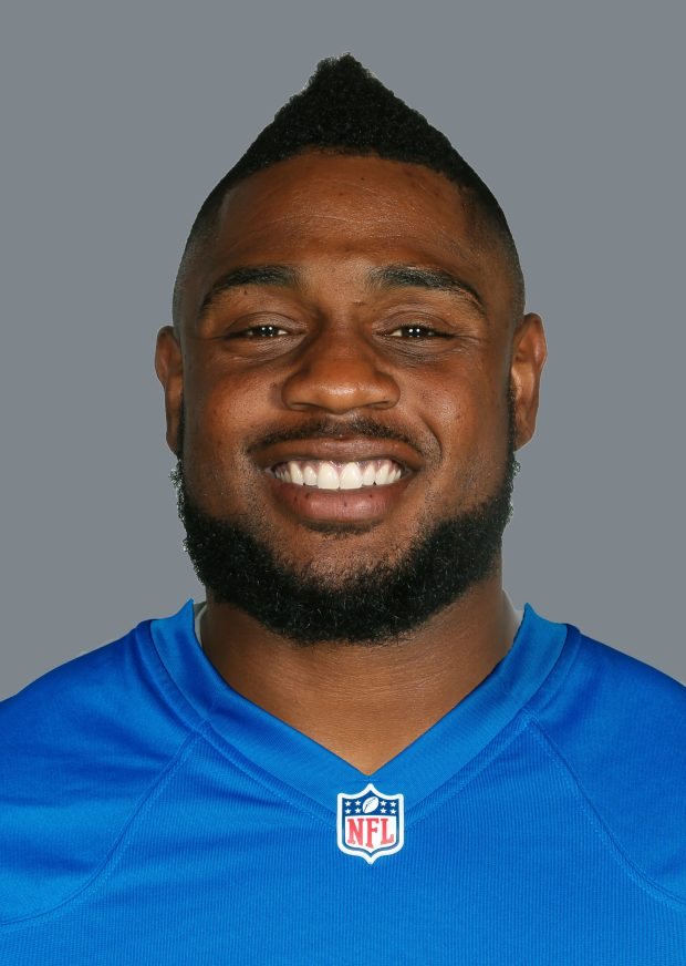 Stevan Ridley, when he played for the Detroit Lions, on June 17, 2016. (Associated Press)
