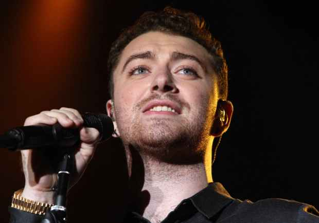 Sam Smith performs during Music Midtown 2015 at Piedmont Park on Saturday, September 19, 2015, in Atlanta. (Photo by Robb D. Cohen/Invision/AP)