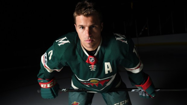 8aa9b607c Zach Parise as the Minnesota Wild held their media day in St. Paul