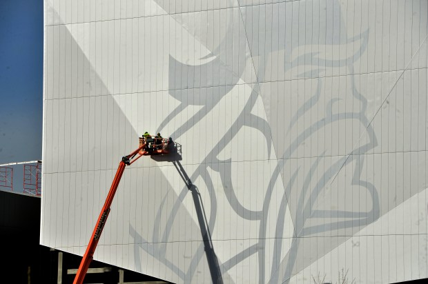 The Minnesota Vikings training facility is under construction in Eagan on Monday, Oct. 23, 2017. ( Scott Takushi: Pioneer Press)