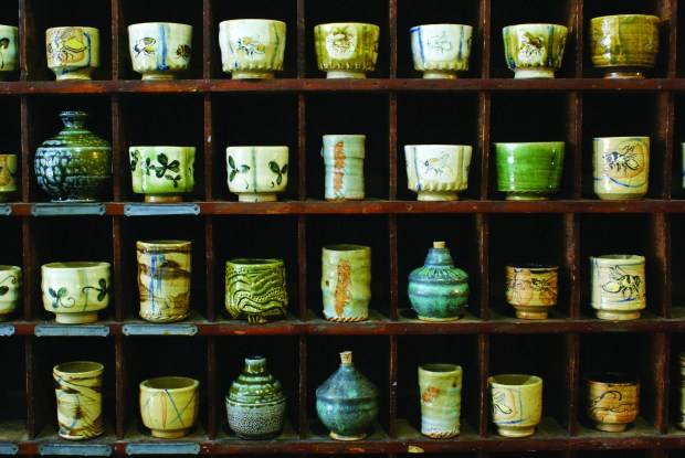 Stoneware at Kinnickinnic Clayworks in River Falls, Wis.