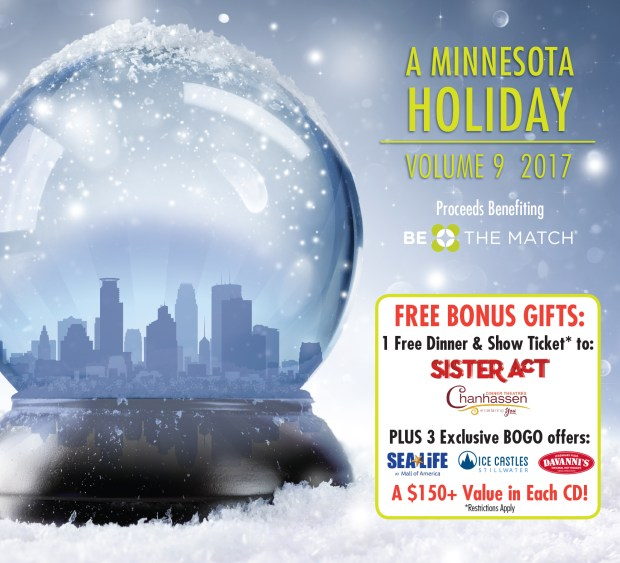 "Cover art for the compilation CD ""A Minnesota Holiday Vol. 9."" (Courtesy of Phil Thompson Productions)"
