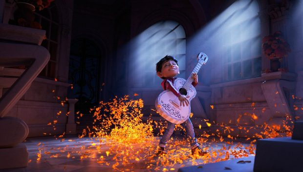 "Anthony Gonzalez voices Miguel in ""Coco."""