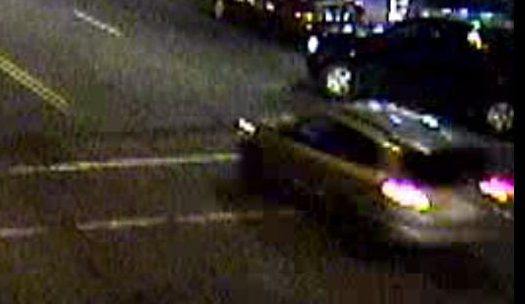 St. Paul police released surveillance photos on Wednesday, Nov. 29, 2017, of a vehicle just before it struck and critically injured a bicyclist at West Seventh Street and Grand Avenue on Sunday, Nov. 26, 2017. Police are looking for the driver. (Courtesy of St. Paul police)